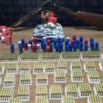 Sahte dişçide cephanelik bulundu: 6 kişi gözaltında