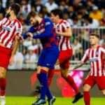 Atletico Madrid Barça'yı devirip finale çıktı