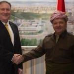 Barzani ve Pompeo'dan kritik görüşme