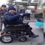 Engelli yolcuyu otobüse almayan şoför hakkında karar