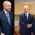 Erdoğan ve Putin görüşmesi başladı! İlk görüntüler