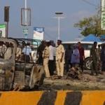 Mogadişu'da devlet binası yakınında büyük patlama