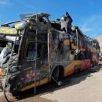 Peru'da yolcu otobüsü 8 araca çarptı: 16 ölü 40 yaralı