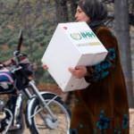 İdlib'den Afrin'e göç eden sivillere yardım
