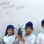 Kartondan ATAK helikopteri yapan öğrencilere sürpriz hediye