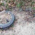 Genç kadını öldürüp, üstünü araç lastiği ile gömdü