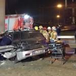 Ataşehir'de korkunç kaza: 14 yaşındaki şoför bacağından oldu