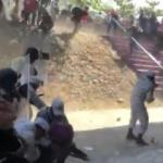 Meksika güvenlik güçleri ve göçmenler arasında çatışma çıktı