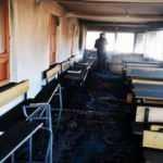 Van Erciş'te Kur'an kursunda yangın