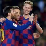 Barcelona gol şovla çeyrek finalde!