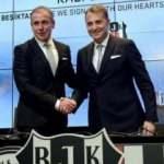 Beşiktaş taraftarından Fikret Orman ve Abdullah Avcı'ya tepki