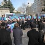 İSMMMO'ya Maktu Üye Aidat Protestosu