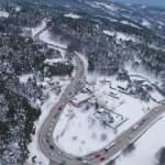 Uludağ'da kar kalınlığı 160 santimetreye ulaştı