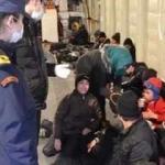116 göçmen yakalandı!