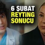 6 Şubat reyting sonuçları: Mucize Doktor, Bir Zamanlar Çukurova reyting sıralaması!