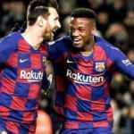 Barcelona üç puanı genç yıldızı Fati'nin golleriyle aldı