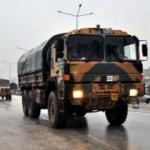 Hatay'da askeri araç hareketliliği