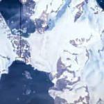 Türk Bilim Üssü'nün uzaydan çekilen fotoğrafı yayınlandı