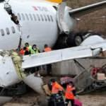 Uçak kazası ile ilgili dikkat çeken detay! Neden açılmadı?