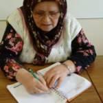 70'inde okuma yazma öğrendi, şimdi hayatının kitabını yazıyor