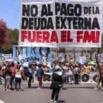 Arjantin'de IMF karşıtı gösteri