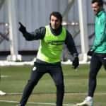 Bülent Korkmaz Konyaspor'un başında ilk idmanına çıktı