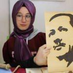 Doğuştan kolları yok! C.Başkanı Erdoğan'a hediye etmek istiyor