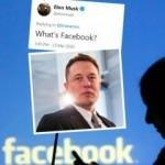 Elon Musk'tan Zuckerberg'e darbe: Facebook'u silin