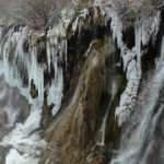 Erzincan'da kar yerini Sibirya soğuklarına bıraktı