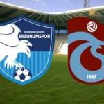 Erzurumspor Trabzonspor maçı saat kaçta? Hangi kanaldan canlı yayınlanacak?