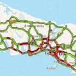 İstanbul'da trafik yoğunluğu yüzde 72'lere dayandı