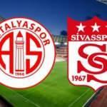 Türkiye Kupası çeyrek final mücadelesi Sivasspor Antalyaspor maçı ne zaman saat kaçta?