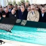 Akif Çağatay Kılıç'ın babası son yolculuğuna uğurlandı