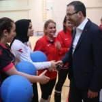 Bakan Kasapoğlu'ndan olimpik sporculara ziyaret