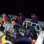 Lastik bottaki 90 kişi ölümden kurtarıldı