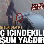 Üsküdar'da korkunç görüntü! Silahla dehşet saçtı