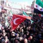 Azez'de Mehmetçiğe destek