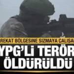 Harekat bölgesine sızmaya çalışan 56 YPG'li terörist öldürüldü