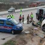 Amasya'da feci kaza! 2 kişi öldü, 7 yaralı