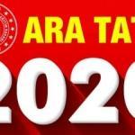 MEB 2.ara tatil tarihini açıklandı! 2020 Nisan İkinci ara tatil kaç gün sürecek ?