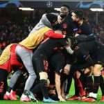 Şampiyonlar Ligi'nde nefes kesen maç Atletico Madrid'in