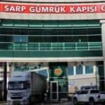 Sarp Sınır Kapısı yolcu trafiğine kapatıldı