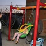SMA hastası Firdevs'in oyun parkı evine geldi