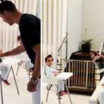 Cristiano Ronaldo'dan hijyen dersi