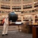 Cumhurbaşkanlığı Millet Kütüphanesi dezenfekte edildi