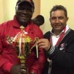 Denizlili teknik direktörün Zimbabve'deki büyük başarısı