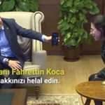 Kasapoğlu ağırladı, Bakan Koca helallik istedi