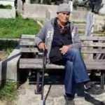 Vatandaş yemin ederek uyardı, yaşlı adam oturuşunu dahi bozmadı