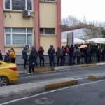 Bakırköy'de hastanede test kuyruğu