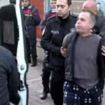Ortalığı birbirine kattı, gözaltına alan polislere 'koronavirüsüm' diyerek tükürdü